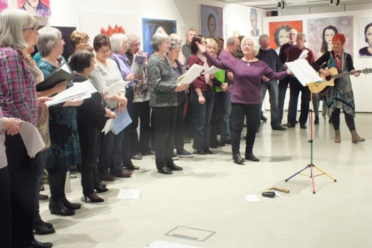 A singing group for people living with dementia and their family and friends