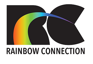 A company logo which says RC, Rainbow Connection