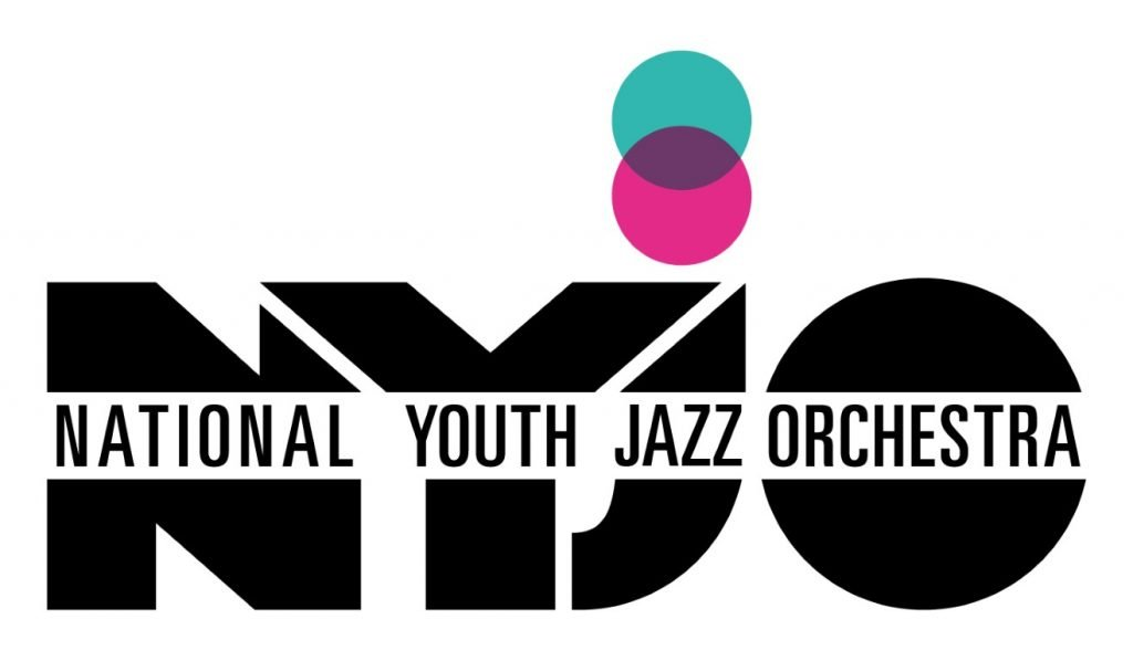 A company logo which says National Youth Jazz Orchestra